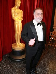 Francis Ford Coppola arrives at this year's Oscars ceremony on Feb. 22. He has won five Oscars and the Irving G. Thalberg Memorial Award in recognition for the quality of his body of work.