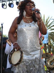 Singer Martha Reeves, performing last year in Beverly Hills, Calif., spent Valentine's Day at a party at the Roostertail, where she and public relations guru Leland Bassett had a great time on the dance floor.