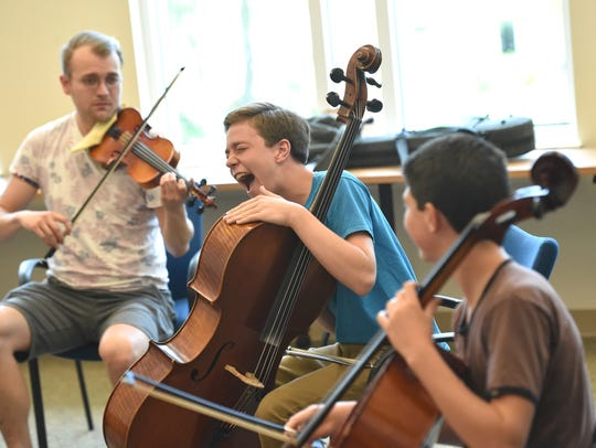 Students hone their skills during the Mike Block String Camp and then perform concerts as part of the Vero Beach International Music Festival. The concerts are 7:30 p.m. Friday and 3 p.m. Saturday at the First Presbyterian Church of Vero Beach's McAffee Hall at 520 Royal Palm Blvd.