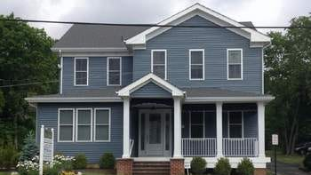 The newly renovated Lasky House at 489 Broadway in Long Branch.