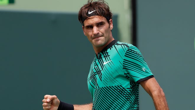 Roger Federer is looking for a record eighth title at Wimbledon.