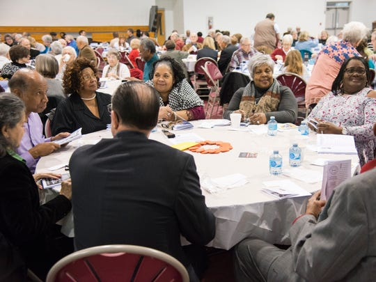 Some 350 people started their Feb. 10 especially early to attend the 28th annual Swannanoa Valley Dr. Martin Luther King Jr. Prayer Breakfast.