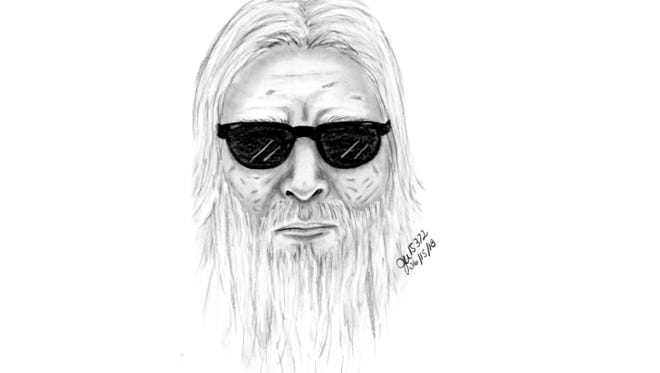 Police sketch of man accused of attempting to lure girl into his van.