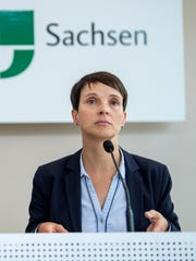 Frauke Petry, a leader of Germany's far-right Alternative