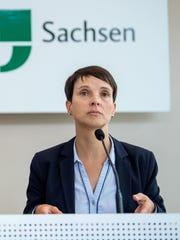 Frauke Petry, a leader of Germany's far-right Alternative