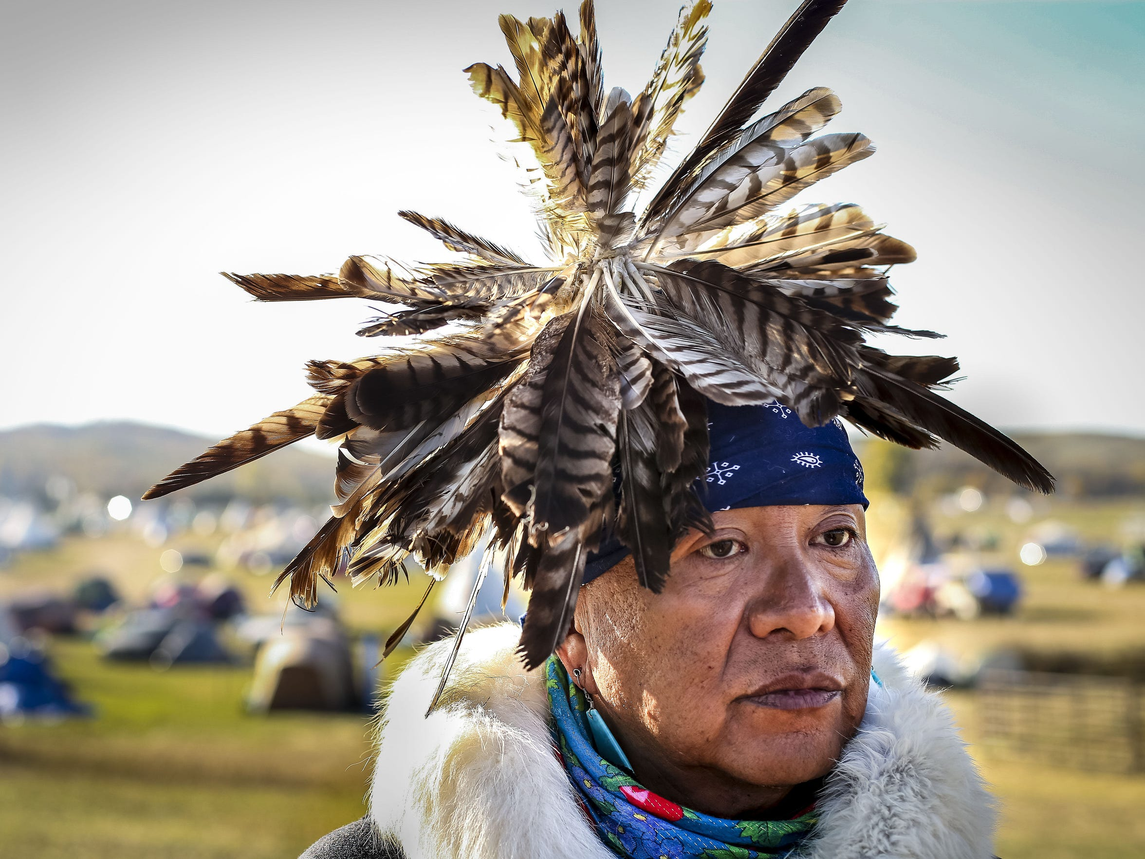 Havasupai tribal medicine man Uqualla, shown at the