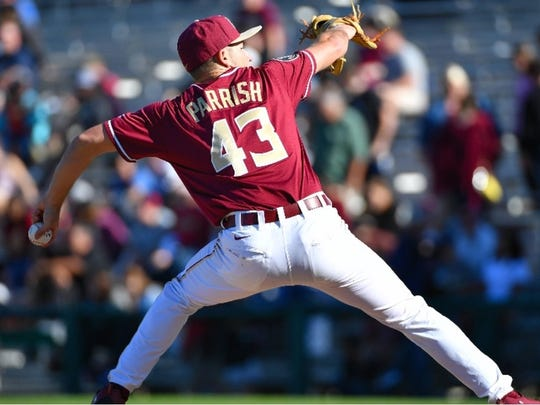 With his desire for greatness, Florida State left-hander Drew Parrish has quickly developed into one of the Seminoles starting pitchers.