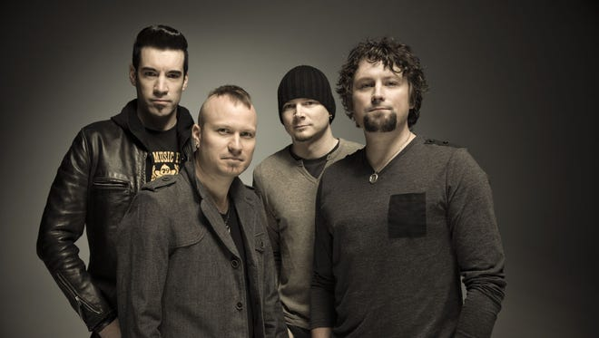 Theory of a Deadman will perform 7 p.m. Saturday, Sept. 3, at the Oregon State Fair.
