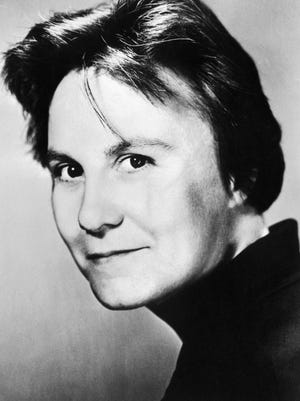 A photo of Harper Lee dated 1962. A new novel by her will be published this summer.