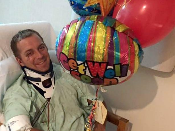 WTVF-5 sports anchor Steve Layman probably will be off the air until mid-October as he recovers from injuries suffered in a car accident.