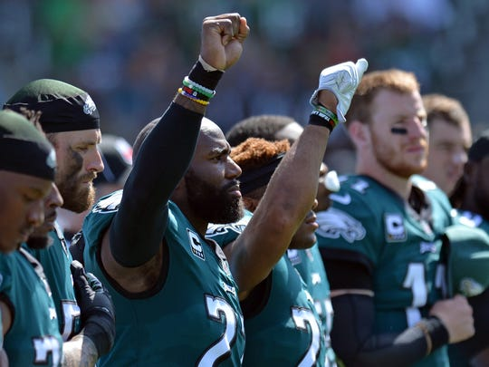 Philadelphia Eagles strong safety Malcolm Jenkins,
