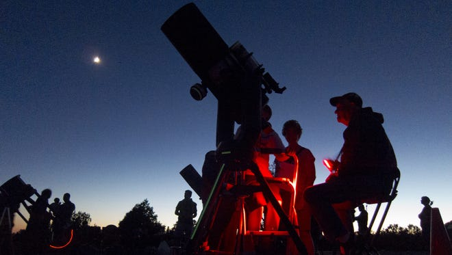 Visitors can explore the wonders of the night sky during Grand Canyon National Park's annual Star Party.