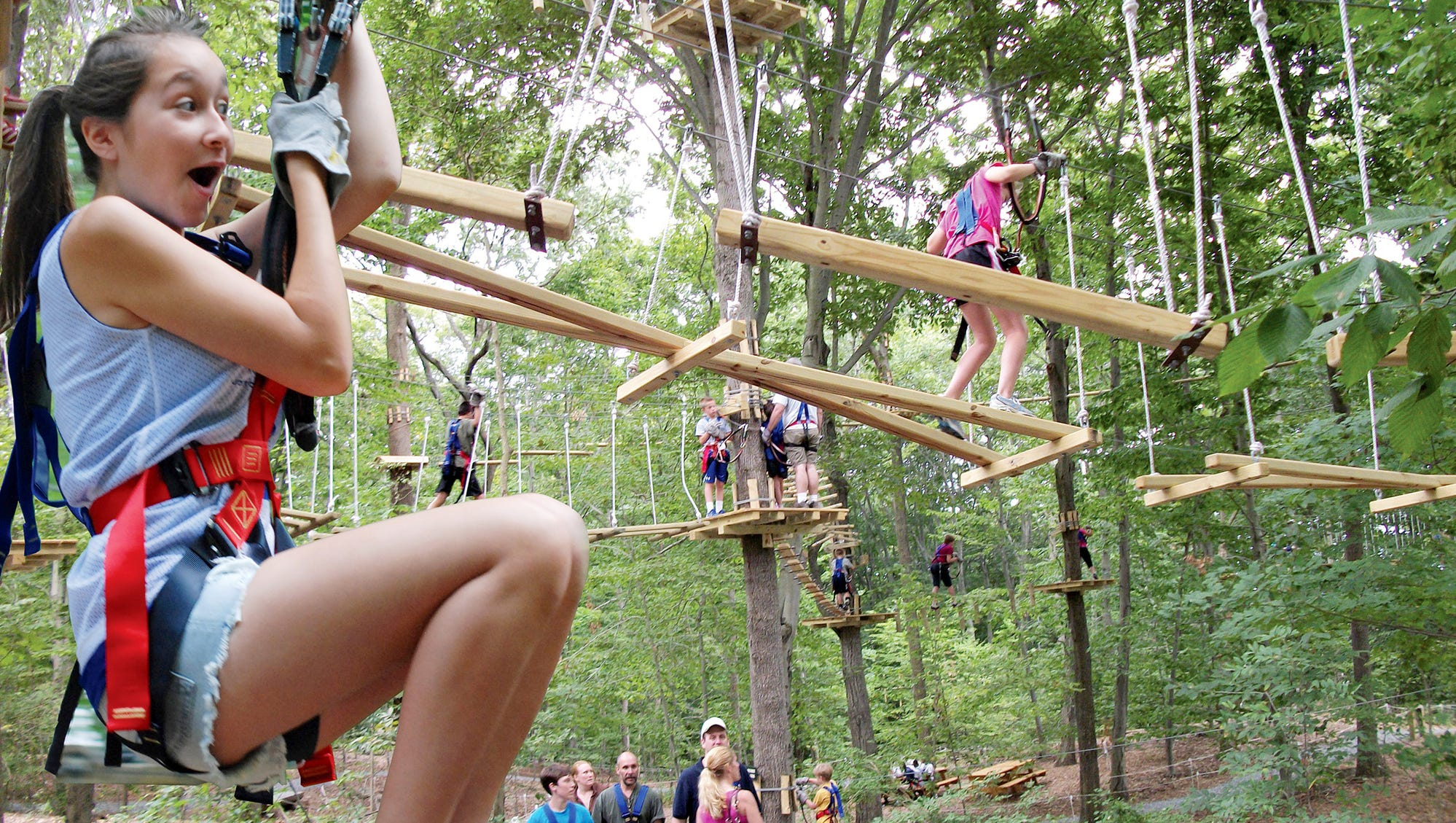 Zip line park, Adventure Park at Nashville, opening in West Meade