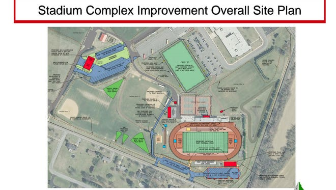 The plans show Kingsway Regional School District's proposed improvements. A referendum will be held March 8.