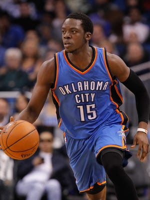 Thunder guard Reggie Jackson is a restricted free agent this offseason.