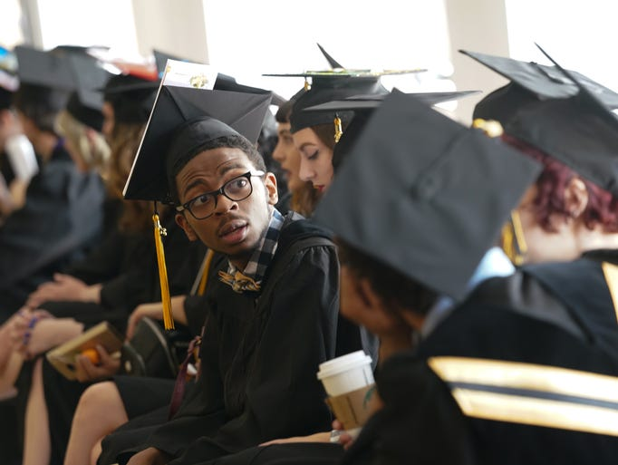 Approximately 61 graduates attend Delaware College