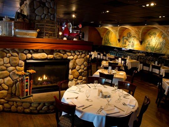 Have a seat around the fire at Nonna's Citi Cucina in Marlboro.