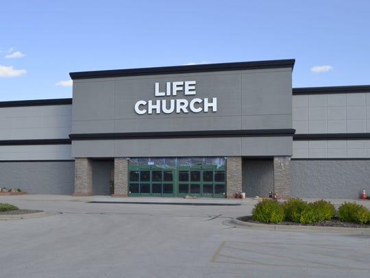 Life Church Green Bay held its first Sunday morning