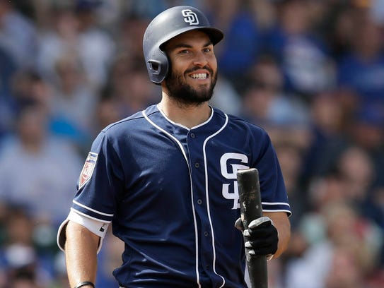 Eric Hosmer signed an eight-year, $144 million deal