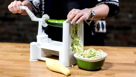 Eating healthy is fun with a spiralizer.