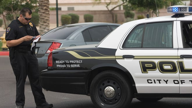 The Police Department in Tolleson needs to replace a patrol vehicle and detective vehicle.