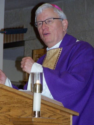 """Green Bay Catholic diocese bishop David Ricken reminded attendees at the diocese's annual Rural Life Days Mass and observance at Holy Family parish that farmers' role is to """"till and keep the garden of the world""""."""
