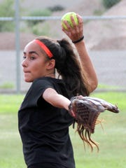 Brizella Baeza lists softball as one of her favorite