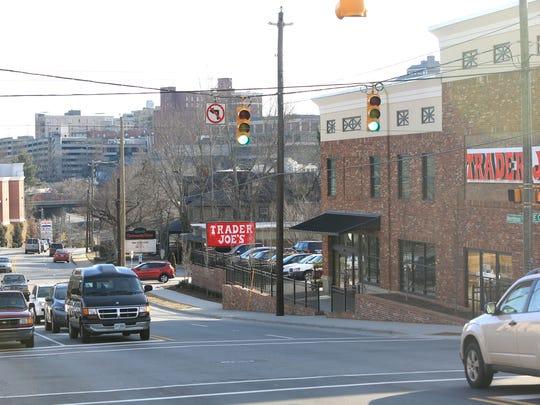 Trader Joe's on Merrimon Avenue.