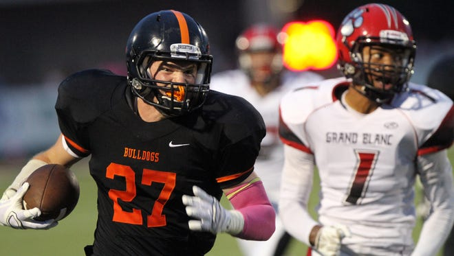 Joey Clifford rushed for 4,072 yards and 50 touchdowns in three seasons on Brighton's varsity football team.