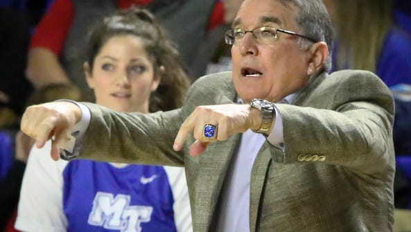 Head coach Rick Insell and the Lady Raiders dominated