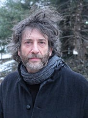 Author and Bard College Professor Neil Gaiman.