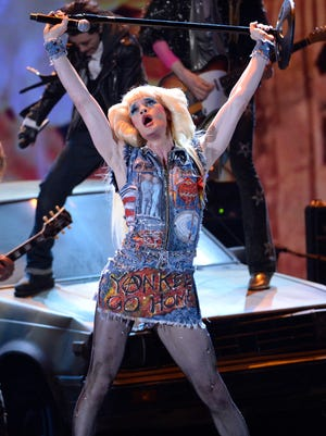 Neil Patrick Harris had a big year on Broadway, starring in 'Hedwig and the Angry Inch.' Here, he performs a number from the show at the 2014 Tony Awards on June 8.