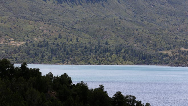 Lake Nighthorse is pictured on Sunday south of Durango, Colo. The San Juan Water Commission may consider installing a pipeline from the lake to New Mexico entities.