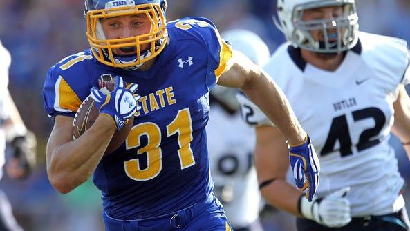 Zach Zenner #31 from South Dakota State University