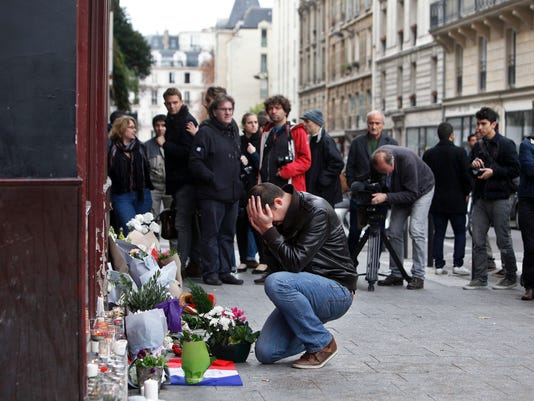 APTOPIX France Paris Attacks