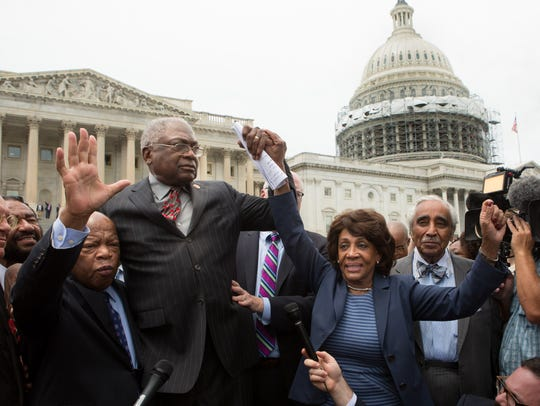 Reps. John Lewis, James Clyburn, Maxine Waters and