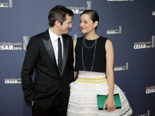 Guillaume Canet  and Marion Cotillard at the French