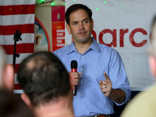 Marco Rubio at the Sandshaker Lounge 8