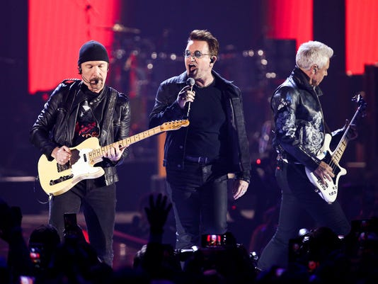 The Edge, Bono, Adam Clayton