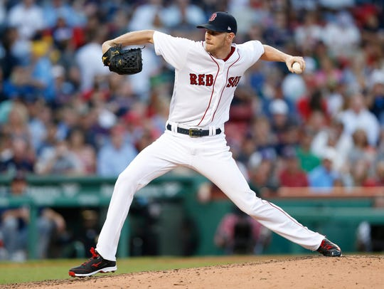Boston's Chris Sale has been the most dominating pitcher