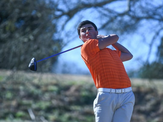 Clemson golfer Bryson Nimmer was the Tigers' top player