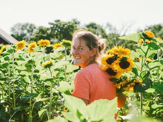 Mary Solbreken grows flowers for her business Rustic