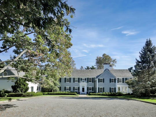 1928 mansion at 10 Club Way in Rumson.
