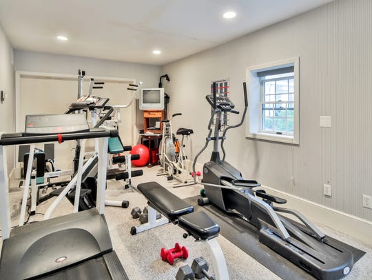 A private and convenient gym is featured on site.