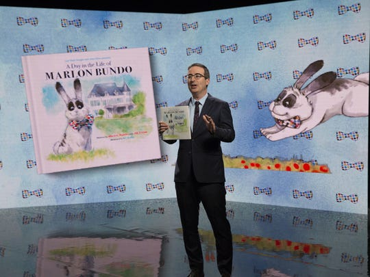 John Oliver talks about his book, 'A Day in the Life