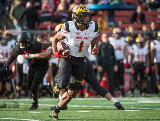 NCAA Football: Maryland at Rutgers