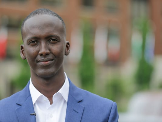 Former Somali refugee Mohamed Osman Mohamed brings awareness to World Refugee Day.