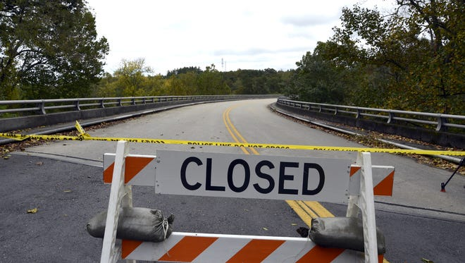 The Blue Ridge Parkway is closed is mostly closed due to dangerous road conditions at higher elevations, and the government shutdown.