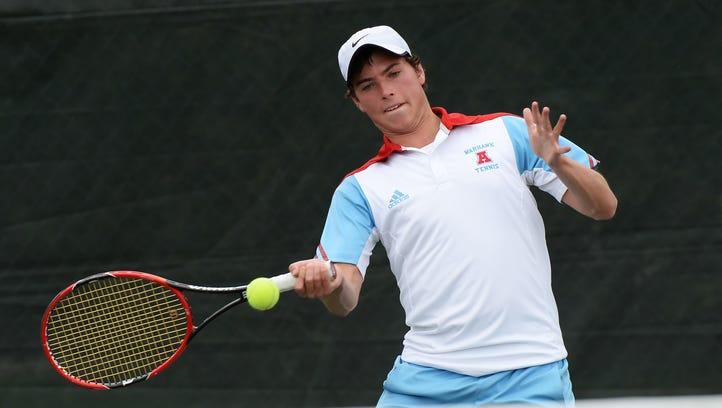 Garrett Williams has been a consistent force for Arrowhead tennis