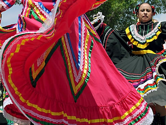Cinco de Mayo celebration in Mesilla